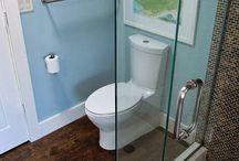 Banheiros | Bathrooms / Boas ideias para o projeto do seu banheiro.