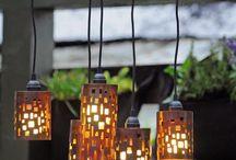 lanternas e velas
