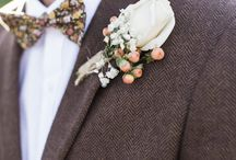Mimosa - Styling the Groom / Styling the bridegroom. men's wedding day attire and trends.