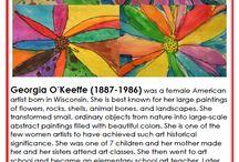Art -- Georgia O'Keefe
