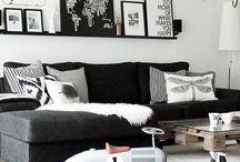 Plankje woonkamer