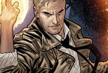 Constantine / While Constantine prefers to bluff his way out of trouble by relying on subterfuge and slight of hand, he also never hesitates to lie, double-cross or hurt and betray those closest to him.  / by DC Comics
