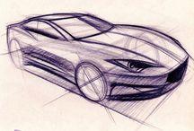 tegning af biler