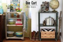 Einrichtung der Küche / Möbel, Accessoirs und Design- und Einrichtungsideen rund um die Küche - Alle vorgestellten Projekte kannst du mit individuellen Maßen nachbauen