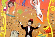 1er. Acto..Circo!!!!!!! / by Martha Vega