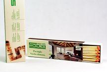 Cajas de Cerillas Chimenea / Cajas de Cerillas grandes para chimeneas.