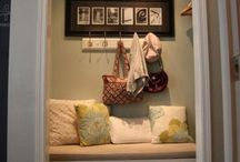 Space: Nooks / Exploring decoration, organization and inspiration for the space! / by Claire Kelly