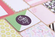 Desktop Edition Project Life / Layouts and ideas using the Desktop edition Project Life Core Kit by Becky Higgins / by Becky Higgins LLC