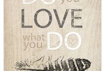 words of wisdom / by Danielle Faries