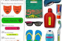 En avant les jolies colonies avec A-qui-S / Le pack colonie : 60 étiquettes pour vêtements, 18 grands autocollants, 36 petits autocollants, 24 mini-autocollants, 6 paires d'autocollants pour chaussures.  144 étiquettes à 32€