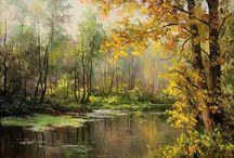 Painting: Eugen Burmakin