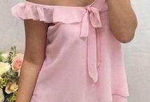 blusas de tela