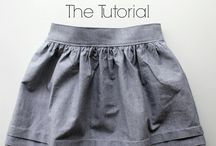 free girls skirt patterns + tutorials / I love classic, vintage inspired clothes with beautiful detail