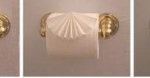 Toilet roll folding / Oragami