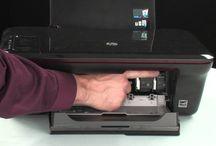 fix and clean a HP Printer