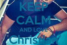 <3 Keep calm: Christian Chávez <3 / Este tablero lo he creado para tener todos los Keep calms de Christian Chávez :)