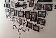 Idee decoro / Decorazione con alberi e foto
