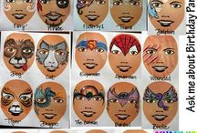 face kids painting