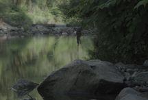 Malownicza rzeka Wieprzówka koło Zatora - 13. czerwca 2015 r. / O tym jak wiele szczęścia daje kontakt z naturą.