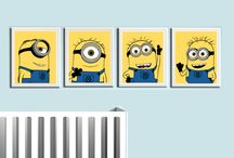 Carters minion bedroom