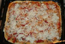 Recepty pizza a slané koláče
