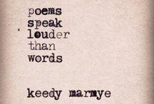 Keedy Marmye Micropoetry / The micropoetry and writings of Keedy Marmye.