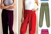 Harem pants / Sewing