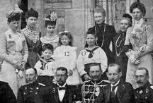 Princess Vicky's family at Friedrichshof