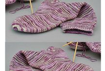 Knitting - Footwear / Socks, slippers, booties....