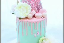 Drip cakes and buttercream cakes