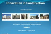 Precast vs in-situ / Precast construction - concrete houses villas formwork insitu