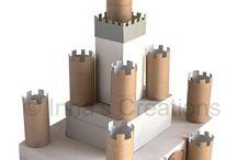 Castillos cartón