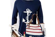 nautica.. navy.. blue/ white/ color..
