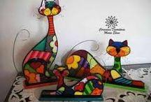 chats dans l'art