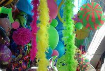 Decoración cumpleaños carnaval