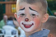 Clown-Schminke