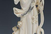 statue ivoires et autre