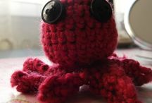 My crocheted animals=) / :)