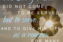 Service, Sacrifice, Salvation