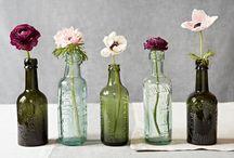 flower arangements, aranżacje kwiatów.