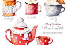 Mugs, Coffee, Cups