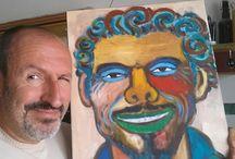 L'arte di Alessandro Tamponi / Dedicata all'amico pittore Alessandro Tamponi che ha ben interpretato Gaetano in una caricatura e disegnato bet1128