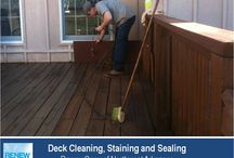Deck Cleaning in Fayetteville AR / Best source for deck cleaning, staining and sealing in Fayetteville AR. Environmentally friendly, 3-step cleaning process makes your backyard deck look great and protects it from future damage. Call the experts at (479) 659-9663.