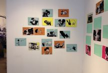 exibitions / some pins of exhibitions in our gallery