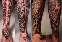 tatoo noga