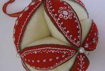 CRAFT - Decorative Felt and needlefelting / Felt, needlefelting, embroidering on felt