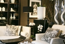 White & Dark Furniture Fusion