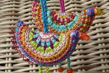 Crochet - Birds - Pajaritos