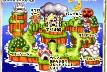 Super Mario Land 2 / A collection of official artwork, screenshots and misc images from Super Mario Land 2 on Game Boy. Visit http://www.superluigibros.com/super-mario-land-2-gameboy for more info