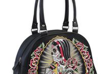 Handbags and Totes / Rockabilly, Tattoo, Pin Up, Psychobilly, Punk and Goth handbags, totes and backpacks!